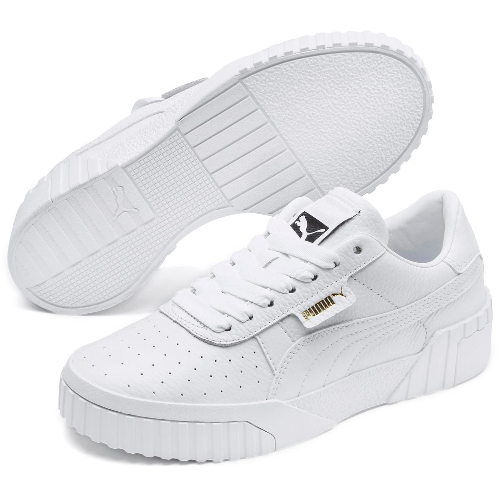 OBUWIE CALI WN S PUMA WHITE PUMA WHITE 36915501 PUMA