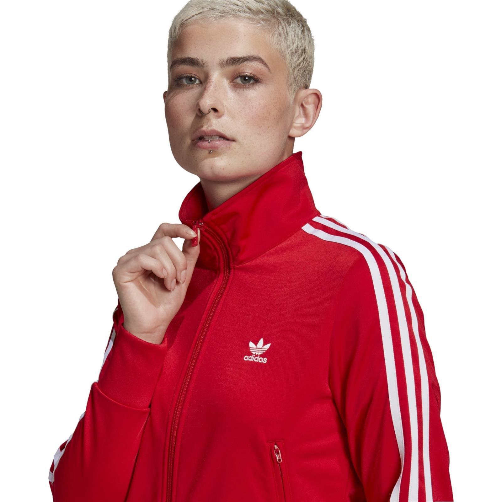 Bluza damska adidas Originals Firebird czerwona GN2818 - Sportroom.pl