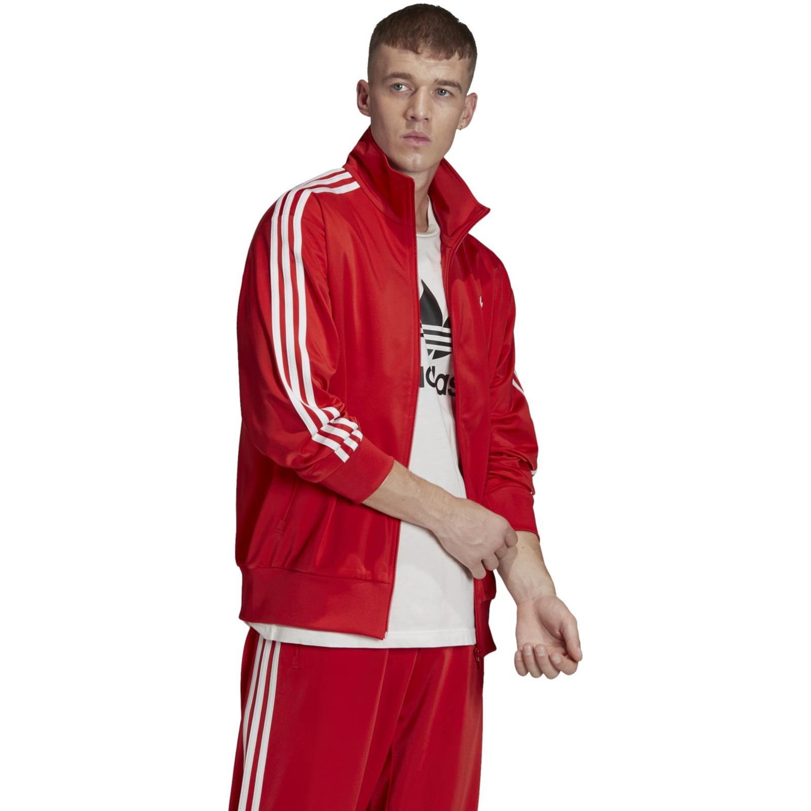 Bluza męska adidas Originals FIREBIRD TT czerwona FM3811