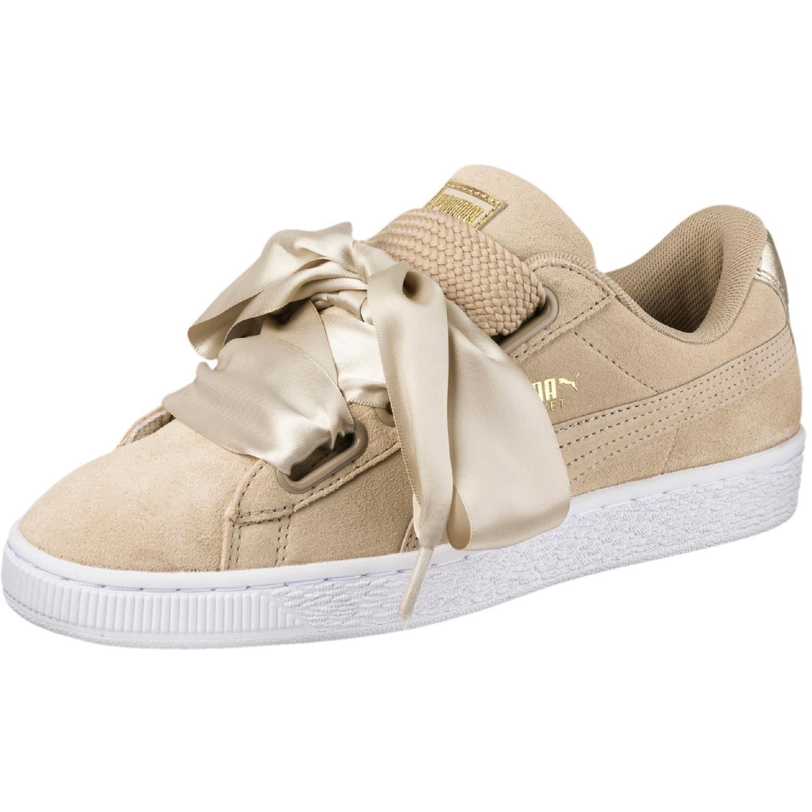 Puma Suede Heart Safari W shoes beige